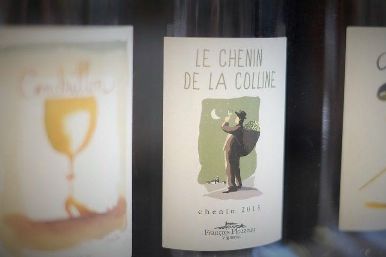 Plouzeau Chinon au salon des vins Vinotours