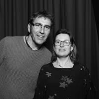 Delphine et Christian Nobiron au salon vinotours