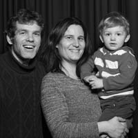 Famille Perrault au salon vinotours