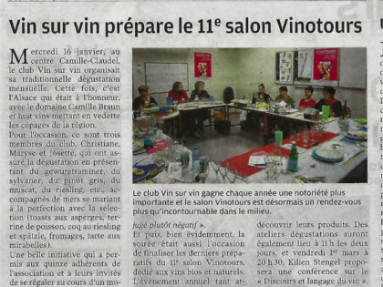 article nouvelle république salon vin