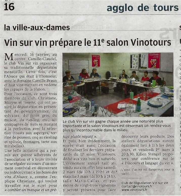 article nouvelle république salon vin