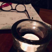 bougie et lunette