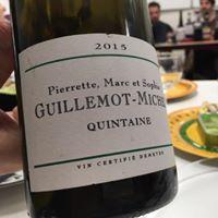Gang des Gustations - la cuvée «quintaine » du domaine Guillemot – Michel