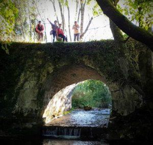petit pont dans le jura